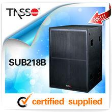 tasso sub218b 2013,new audio pro sound box loudspeaker