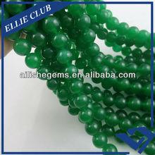 Malay Jade natural green strand beads NB006