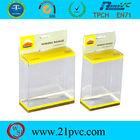 Transparent hard plastic pvc gift box