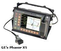Phasor XS ultrasonic flaw detector