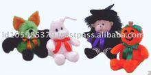 Floppy Bean Bag Bat,Floppy Bean Bag Pumpkin,Floppy Bean Bag Ghost,Floppy Bean Bag With