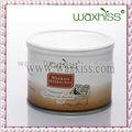 400g waxkiss cera depilatória para salão de beleza e spa de cera( chocolate)
