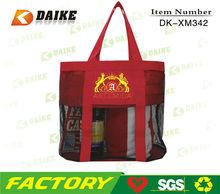 Easy Carry Custom Recycle Mesh shopping felt bag DK-XM342