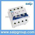 2013 nuevo interruptor de corriente continua fase tres interruptores sp55-63 4p