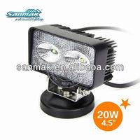 IP67 LED work light, LED work lamp, LED off road lamp headlight housing SM6020