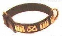 Padded Leather Collar 45cmx25mm