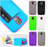 New Credit Card Hard Shell Stand Combo Case Cover For Samsung Galaxy S4 i9500