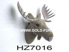 brown moose head,artificial moose head,wall-mounted moose head,moose head decoration
