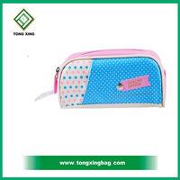 Cute PVC Kids Zipper Pencil Case Bag For School