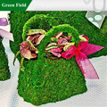 musgo cesta florista exclusivo para a decoração do casamento