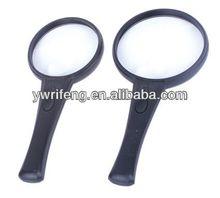 2014 Promotion gifts pocket led magnifier/acrylic lens/magnifier color scan pen