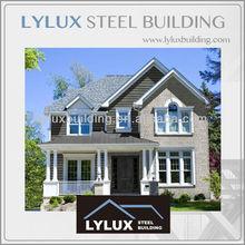 Eco friendly steel prefabricated house luxury American homes
