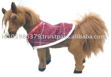 "Std. ""Bocc"" Arabian Horse w/Red Blanket"