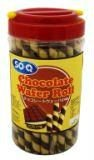 SO-Q Chocolate Flavour Wafer Rolls 330g