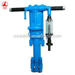 Y26 pneumatic rock drill,portable rock drilling machine,manual gold mining