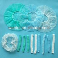 Disposable Nurse cap, doctor cap, hairnet