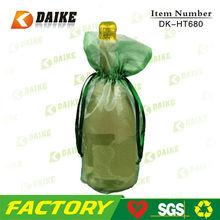 High Quality Supplier Organza Popular Wine Bag DK-HT680