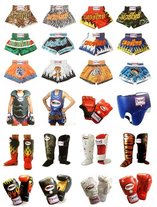kickboxing equipo: