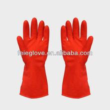Household Latex Rubber Gloves Flock/cotton Lined/unlined Latex Rubber Hand Gloves
