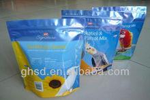 seeds plastic packaging bag / resealable seeds packaging bag / plastic packing bag