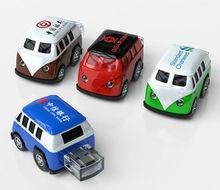 Hot,Hot!!! Plastic Bus Shape Flash Drives Mini Car with High Quality