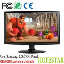 1360*768 18.5 inch computer lcd tv monitors vga input