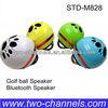 Mini Bluetooth Golf Ball Wireless Speaker~Rechargeable (STD-M828-S)