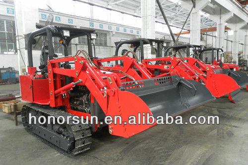 Piccolo bulldozer/mini trattore cingolato/piccola pala cingolata/con terne