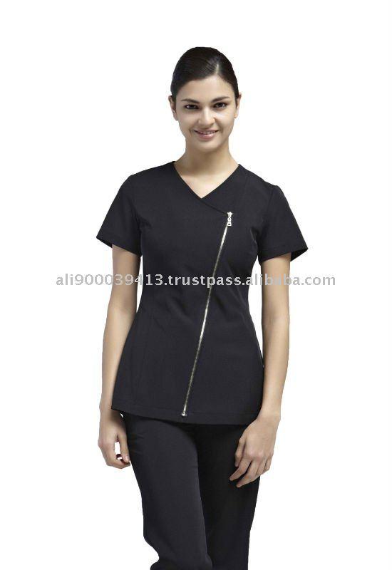 uniforme de spa y salones de belleza yaejw0022