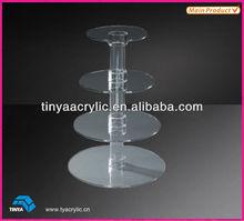 Acrylic Cup Cakes Display Shelf