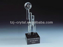 Office Stationary Trophy/Decoration/K9 Crystal /Size can be customized/Sandblasting is acceptable
