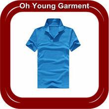 2012 new design fashion hot sell heat transfer print good quality short sleeve mens collared V-neck polo t shirt free sample