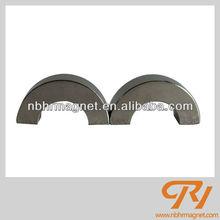 HR Brand N52 grade Nickle coating Segment shape magnetic motor