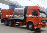 SINOTRUK Asphalt and gravel distributor truck