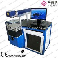 2013 hot selling china hard plastic fishing lures cnc laser marking machine