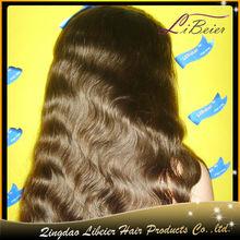 Best selling body wave #2 brazilian human hair u part human hair french braided wigs