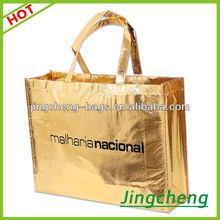 Custom design laminated craft paper shopping bag