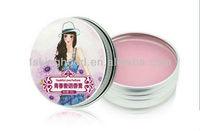 B0030A aluminum tin box cosmetic solid perfume compact case
