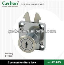Office zinc alloy desk locks