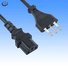 European italy 3 pin power plug