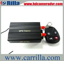 Stable gps gsm signal mini 78x56x38mm blind spot report gsm gps gprs vehicle tracker tk103-2