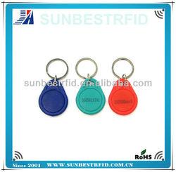 2013 custom rfid key fob TK49 key rings fobs