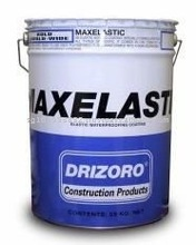 MAXELASTIC - Elastic acrylic Coating, Concrete Wateroofing for all types of Roof and terrace, repair on tiles, metal coatings