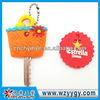 Promotional 2D Key Cover soft pvc protection