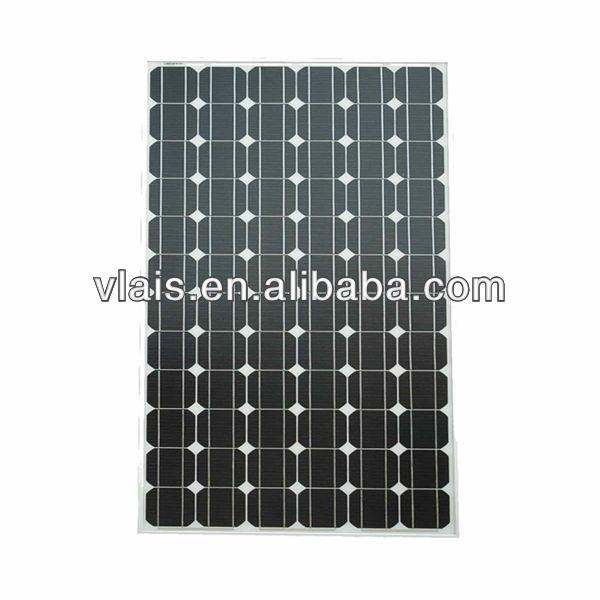 200 Watt Mono solar cell panel monocrystalline solar panel