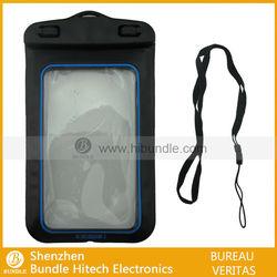 Mobile phone waterproof bag; for iPhone 5 waterproof case
