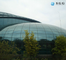 Sun global glass specilaized in curve & flat tempered laminated glass factory