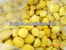 congelati pelati kernel castagne secche di castagno