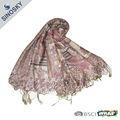 Musulmán del mantón bordado para mujeres
