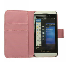 smart flip leather phone case for Blackberry z10